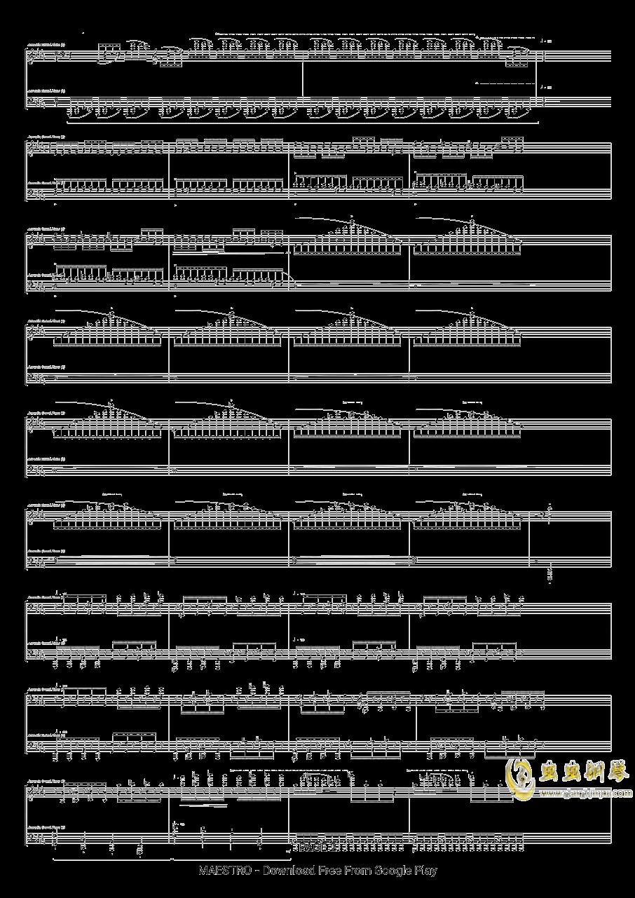 第二号中国狂想曲钢琴谱 第2页