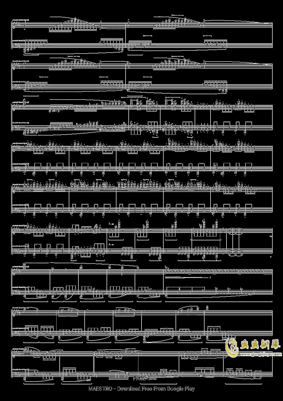 第二号中国狂想曲钢琴谱 第4页