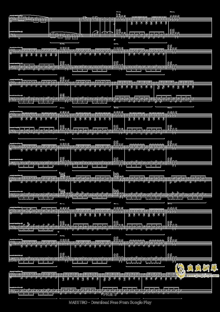 第二号中国狂想曲钢琴谱 第5页