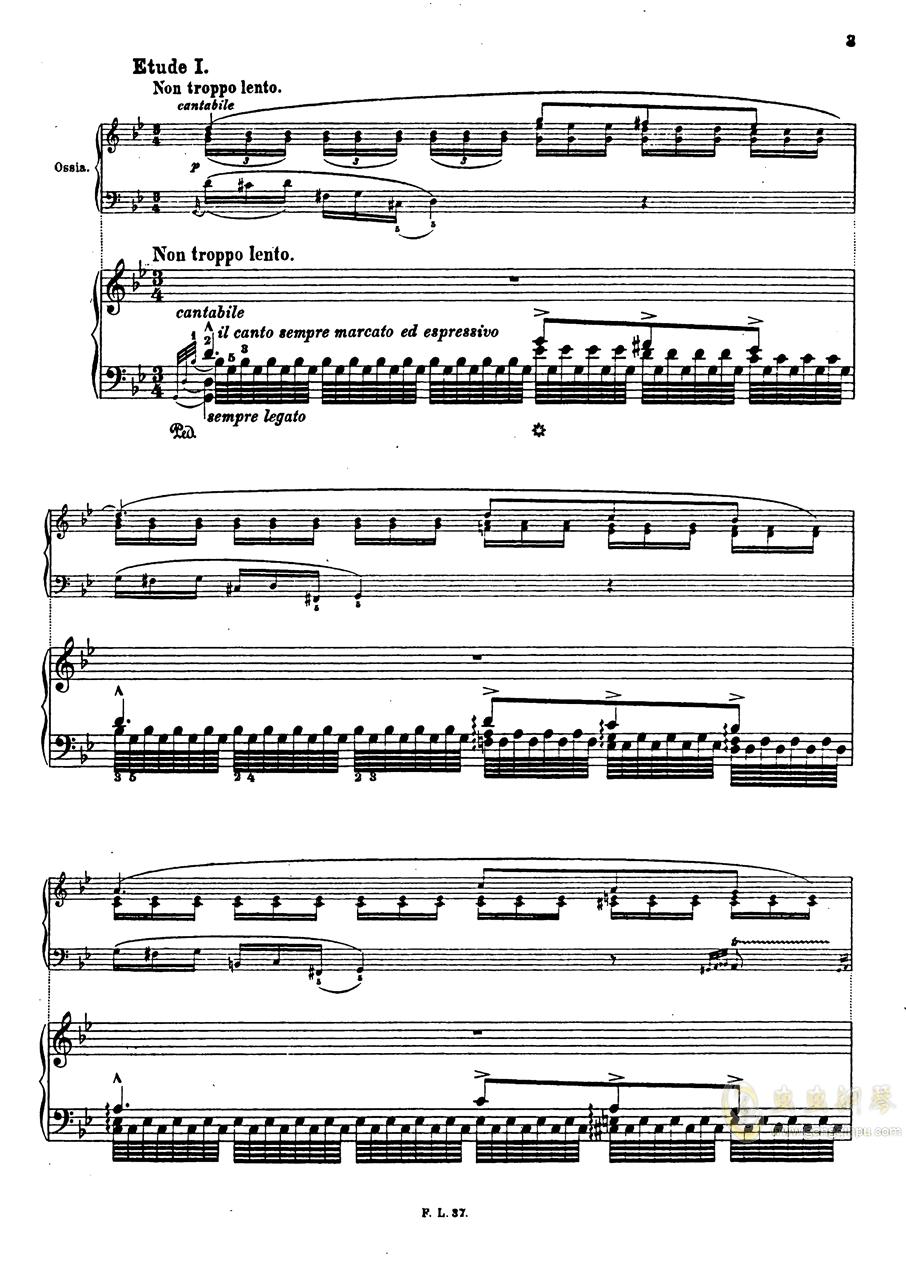 【李斯特】S.140 超技帕格尼尼练习曲钢琴谱 第6页