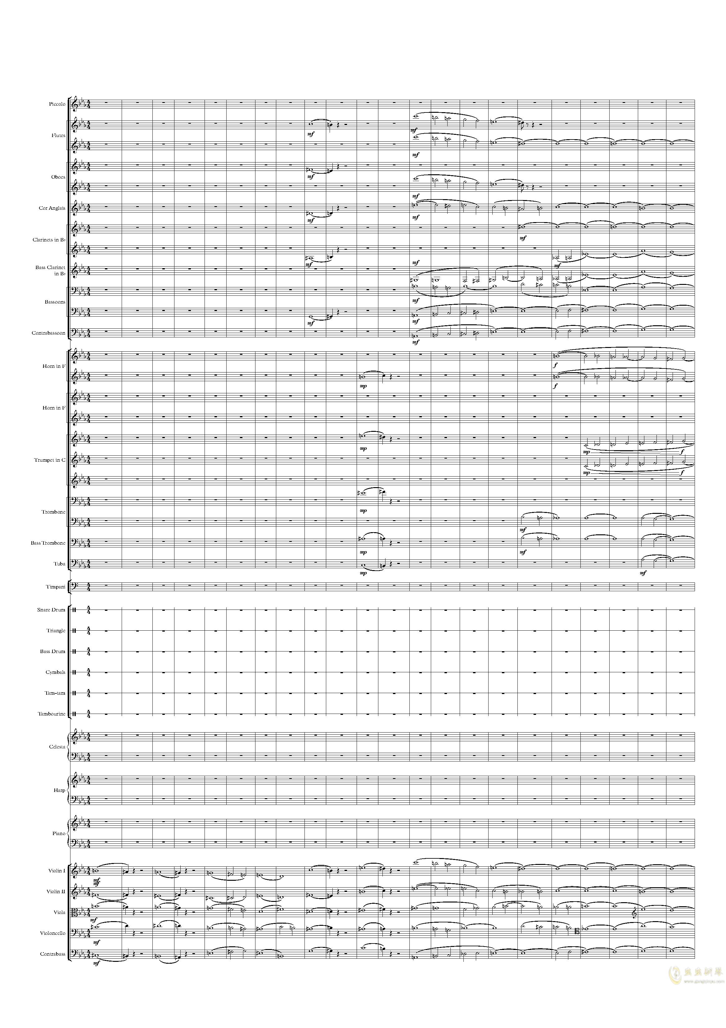 乱写钢琴谱 第1页