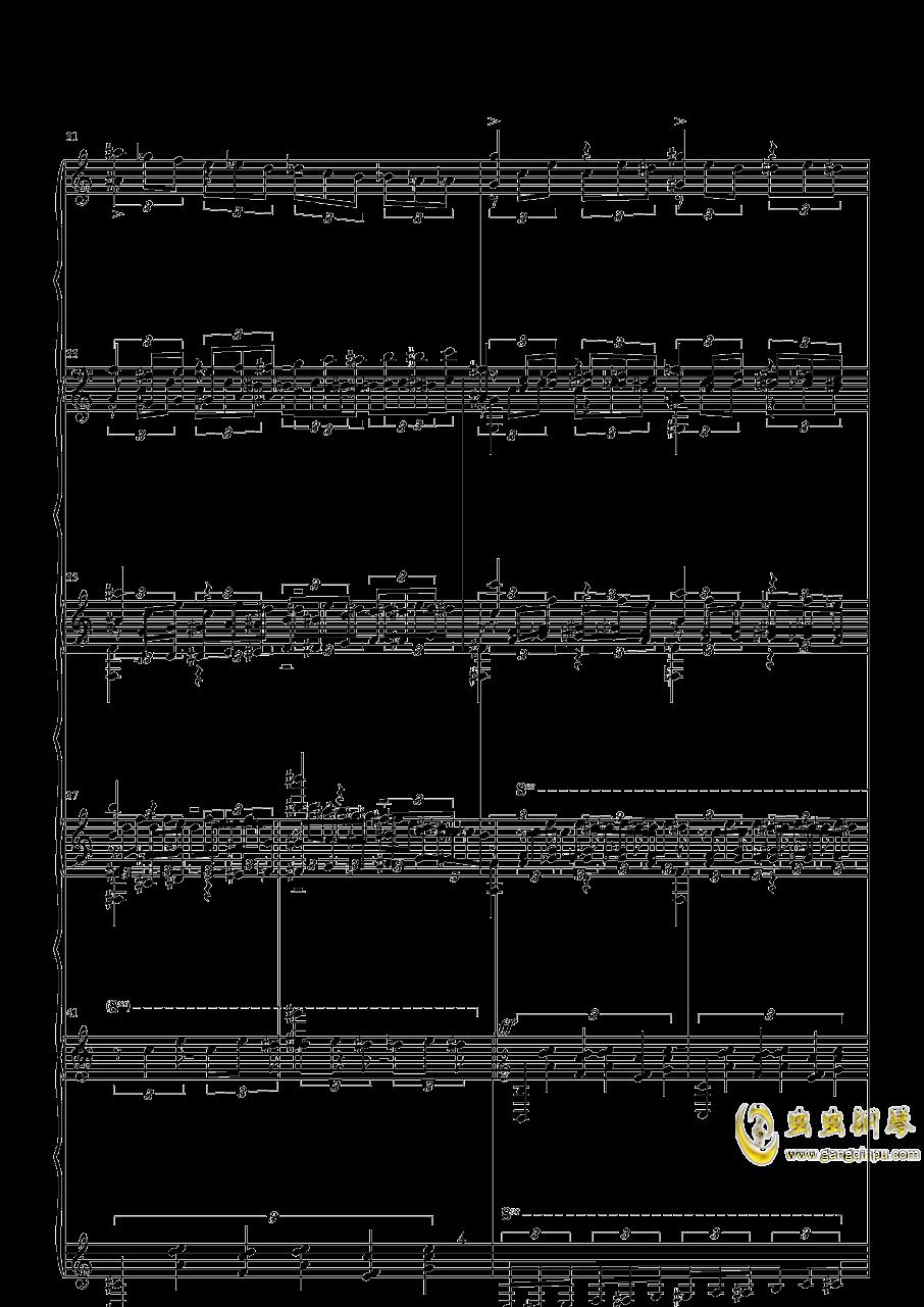 练习曲钢琴谱 第4页