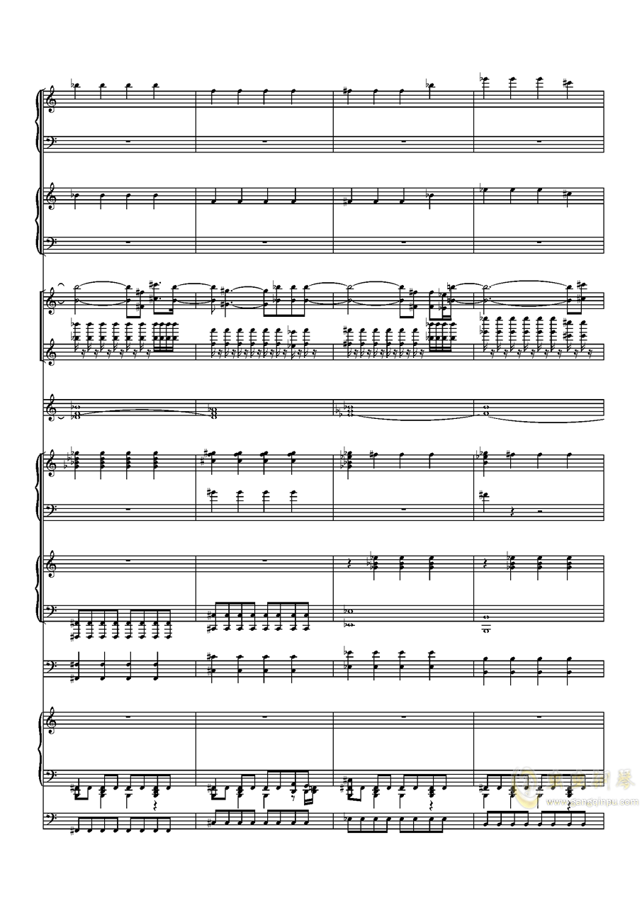 Faded钢琴谱 第5页