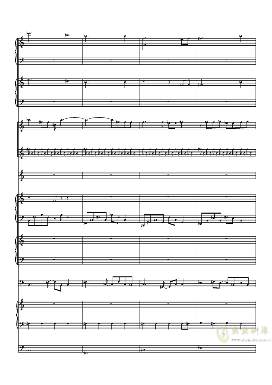 Faded钢琴谱 第9页