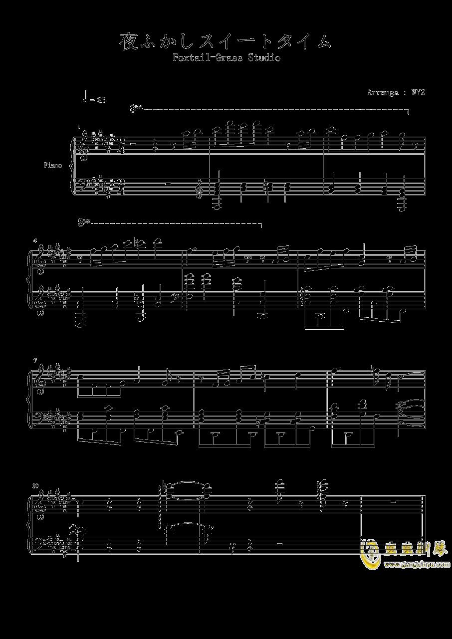 Foxtail-Grass Studio钢琴谱 第1页