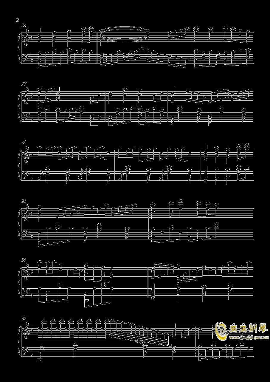 茜云钢琴谱 第2页