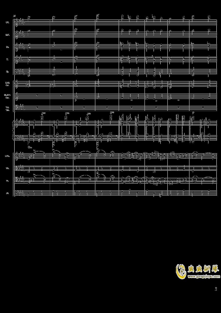 柴可夫斯基钢琴第一协奏曲钢琴谱 第3页