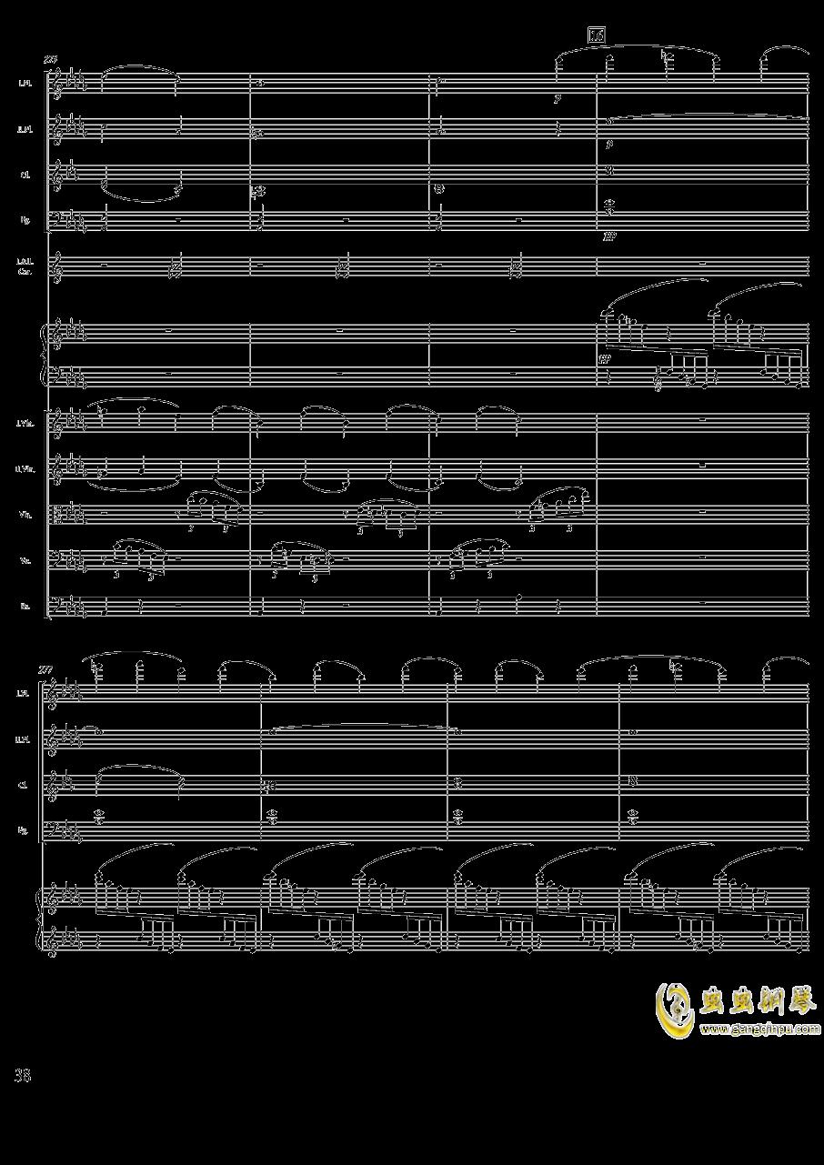 柴可夫斯基钢琴第一协奏曲钢琴谱 第38页