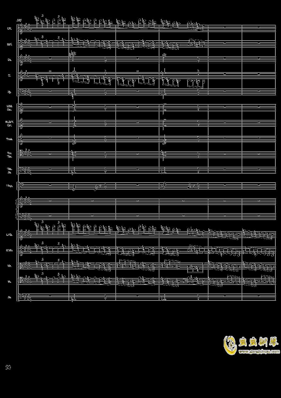 柴可夫斯基钢琴第一协奏曲钢琴谱 第50页