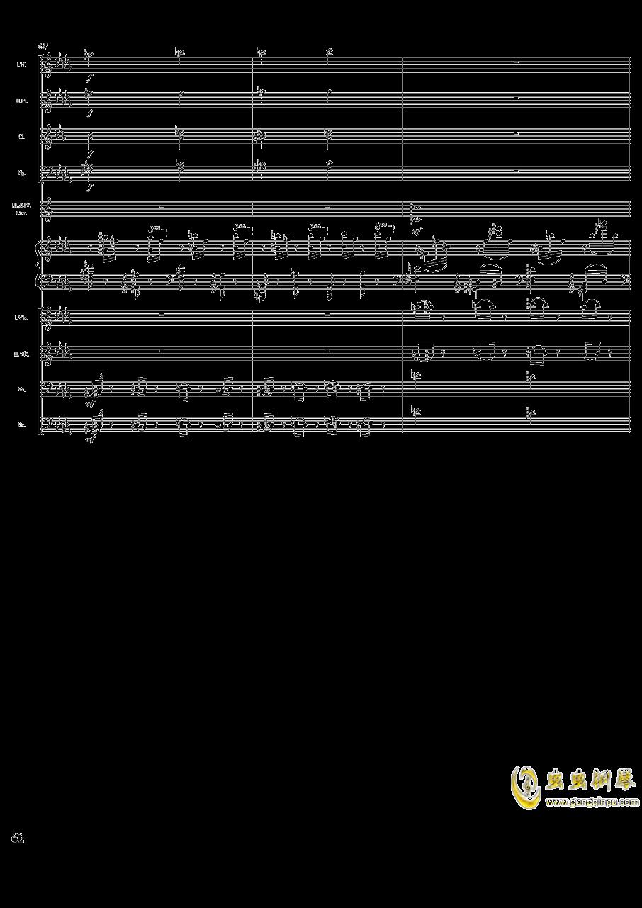 柴可夫斯基钢琴第一协奏曲钢琴谱 第62页
