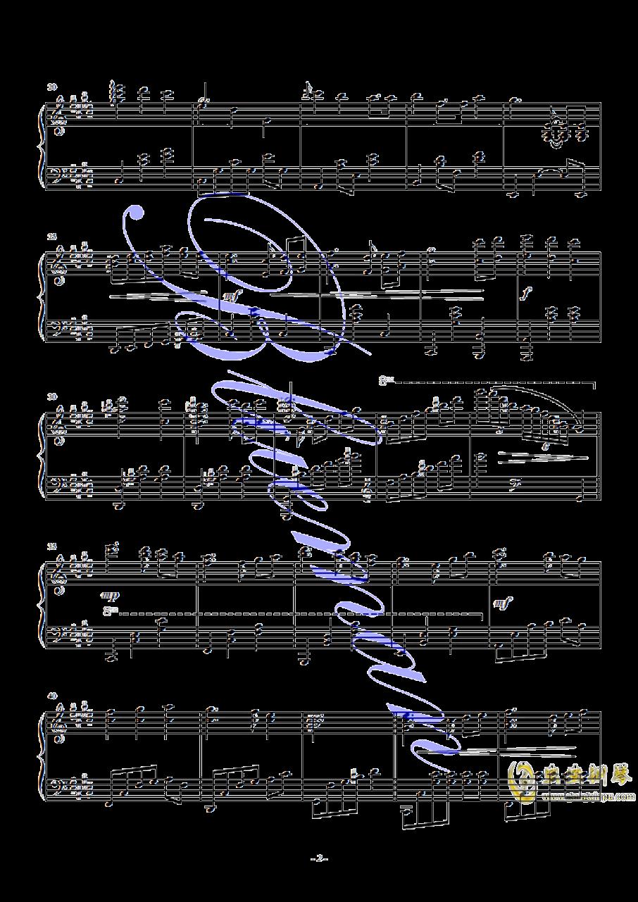 春天的芭蕾钢琴谱 第2页