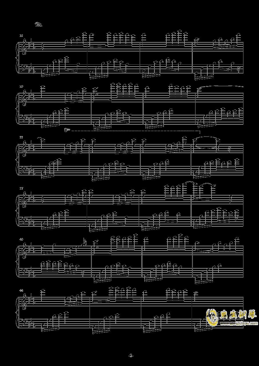 夜的钢琴曲钢琴谱 第2页