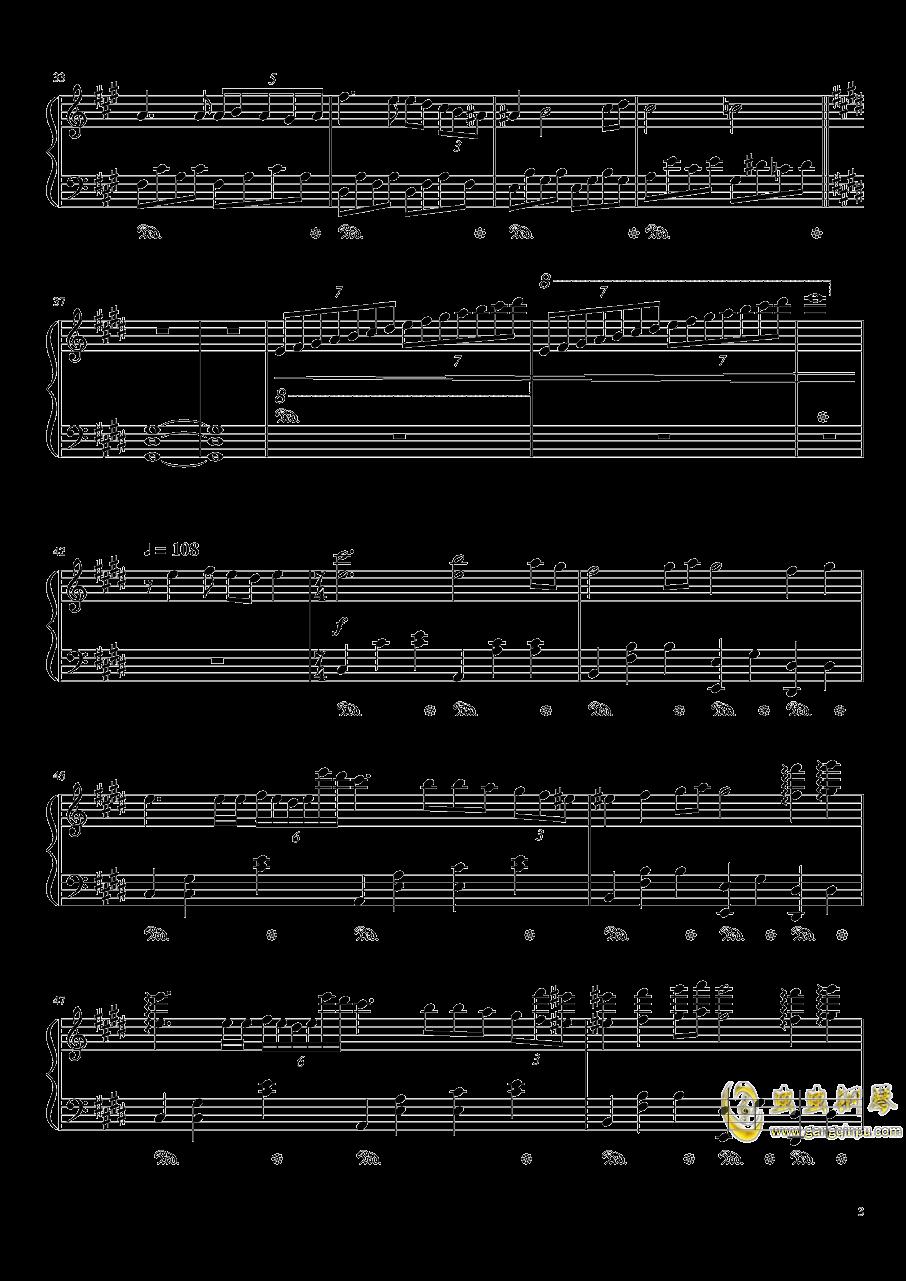 Nocturne钢琴谱 第3页