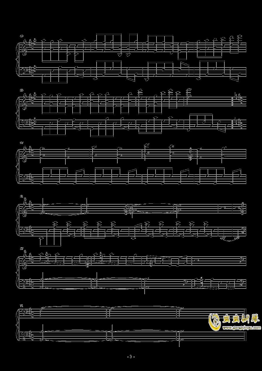 Devoted - X-Ray Dog钢琴谱 第3页