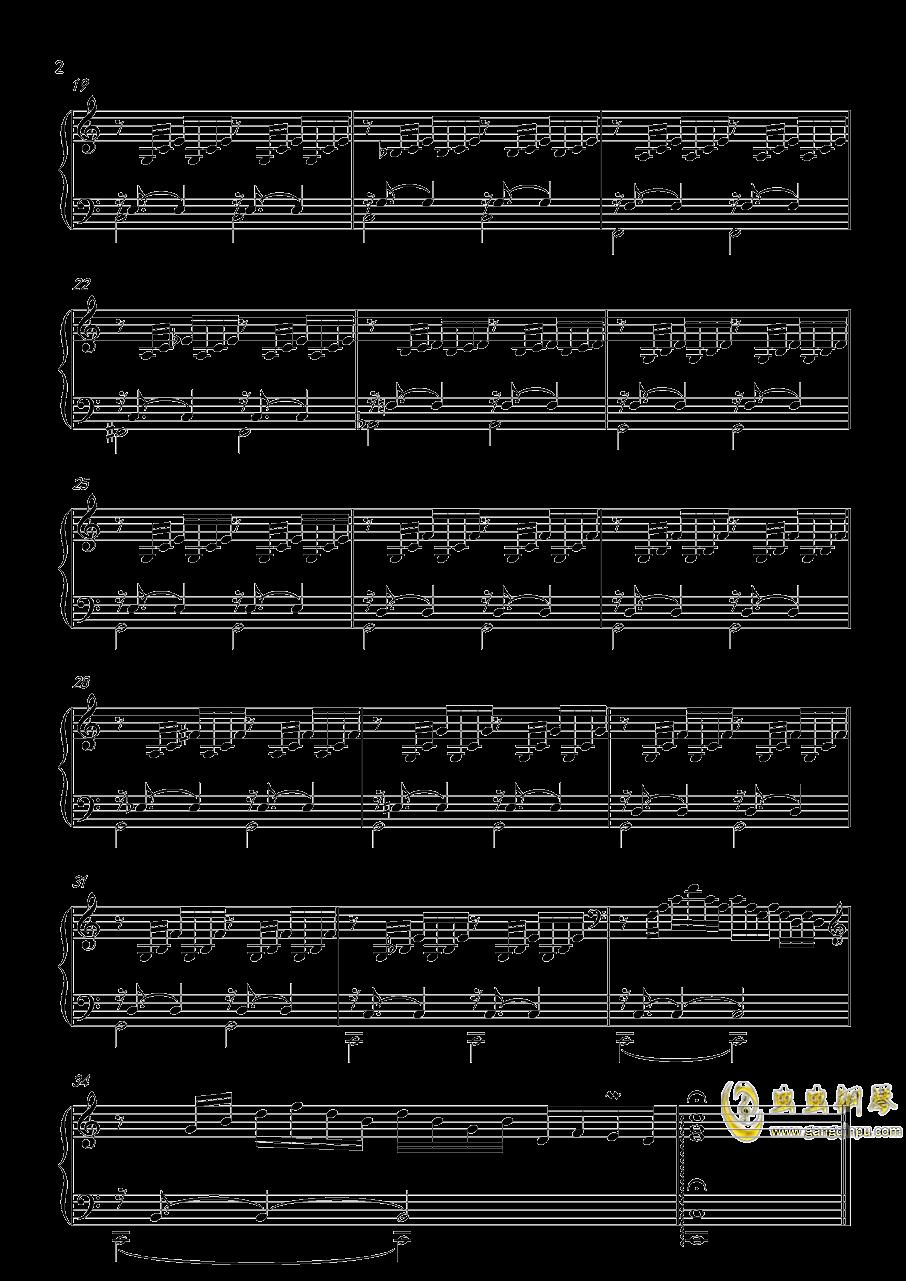 前奏曲1 BWV846钢琴谱 第2页