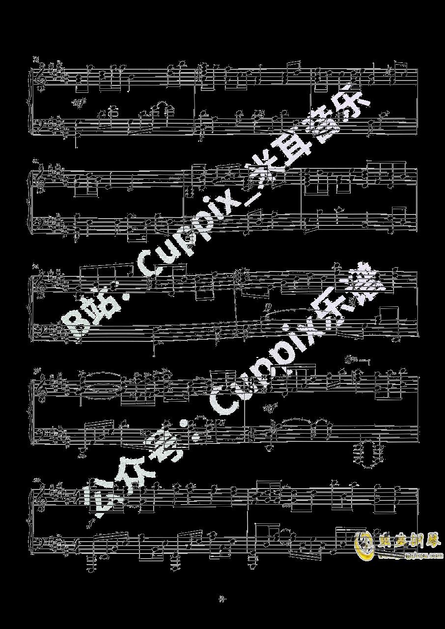 吹梦到西洲钢琴谱 第2页