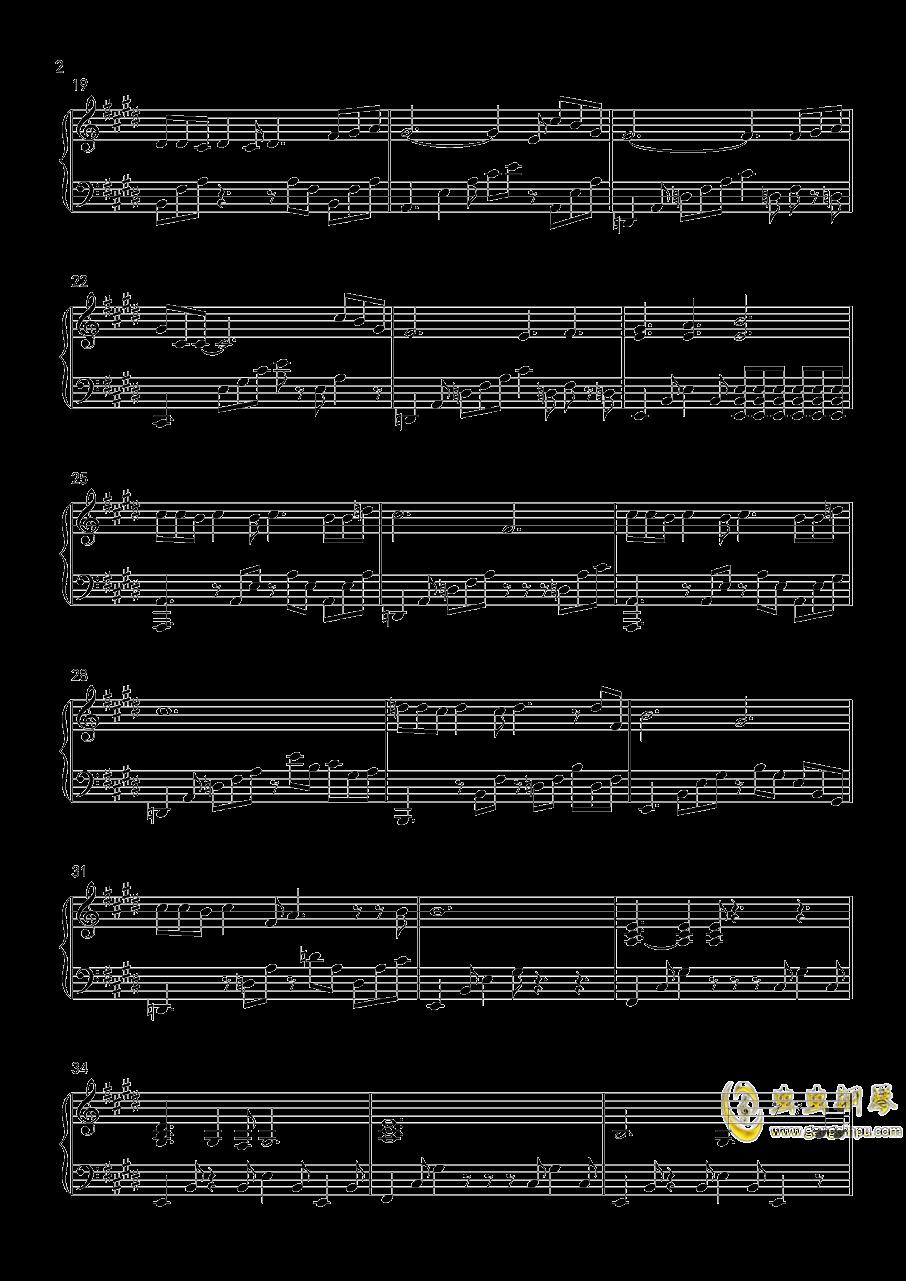 鬼钢琴谱 第2页