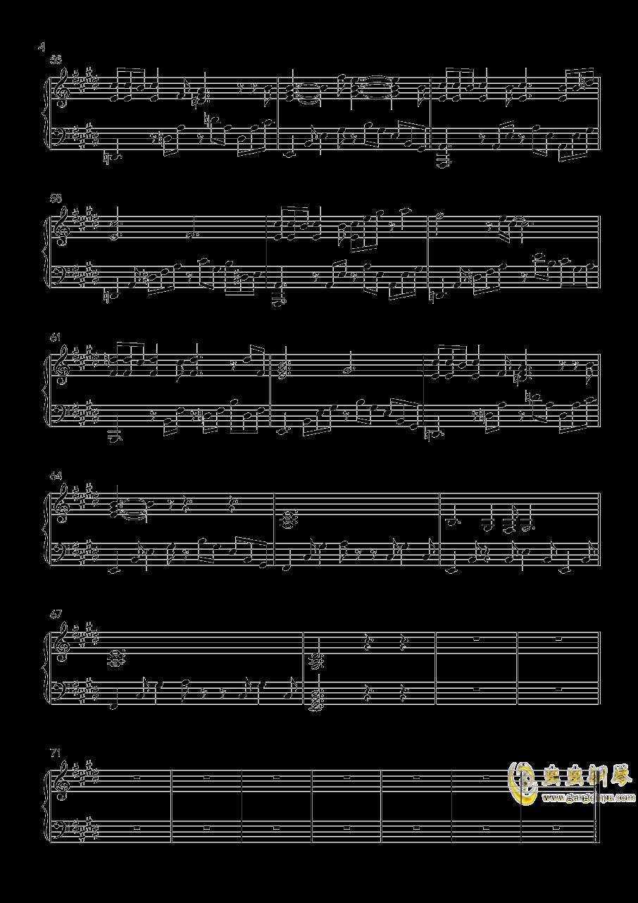 鬼钢琴谱 第4页