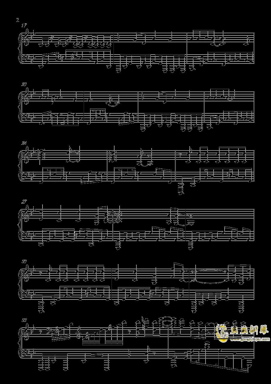 热血无赖钢琴谱 第2页