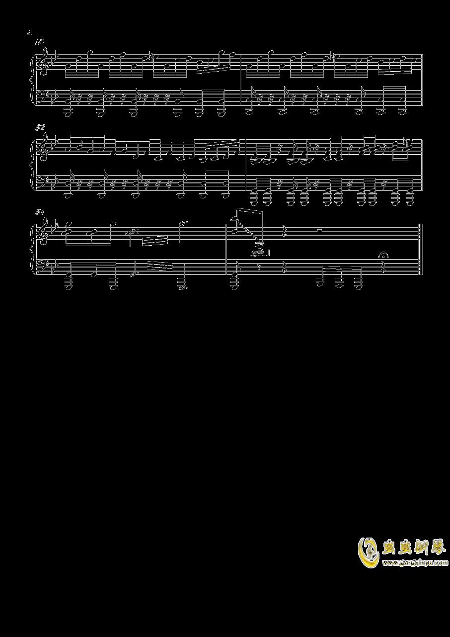 热血无赖钢琴谱 第4页
