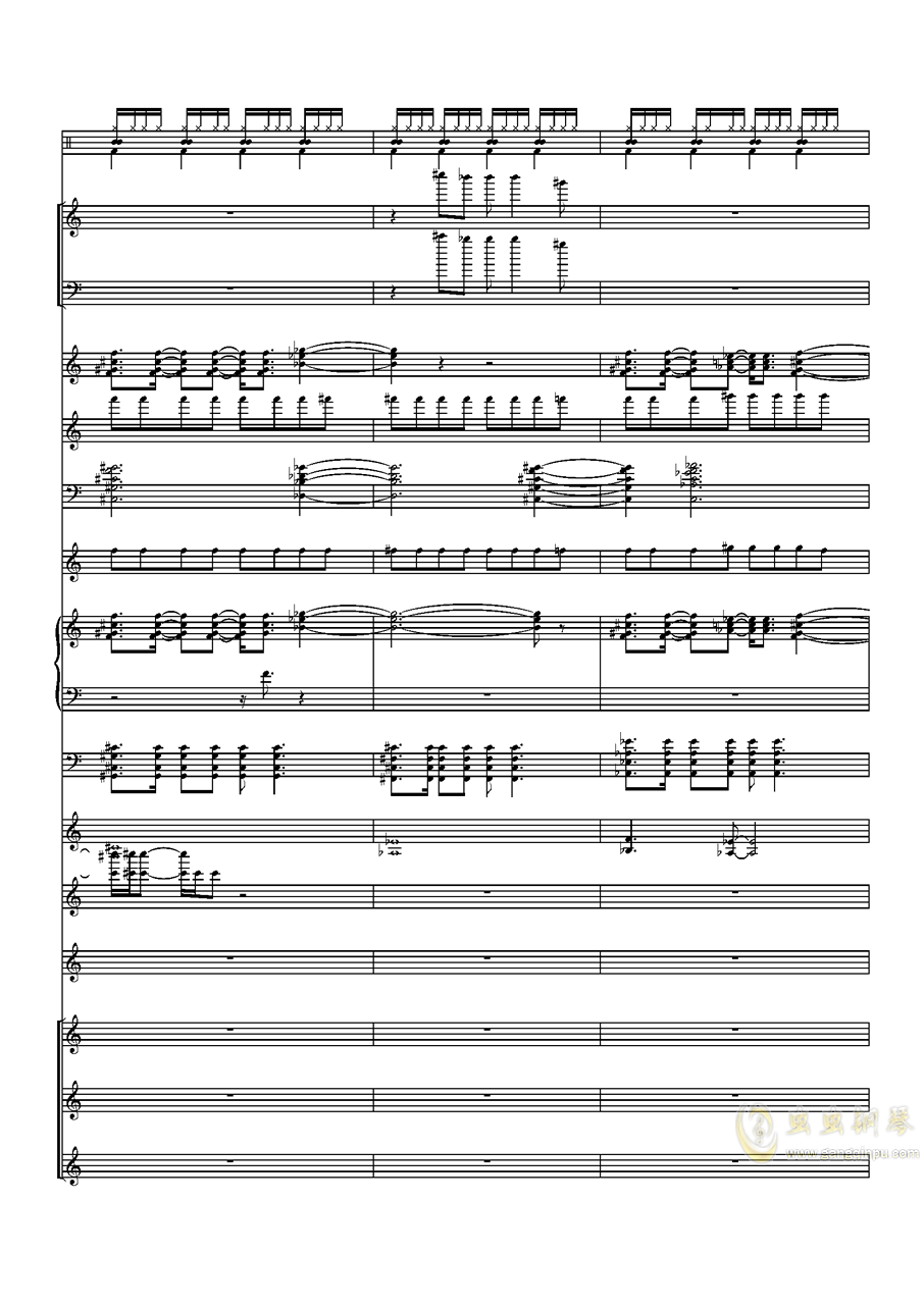 Try Every Thing钢琴谱 第13页