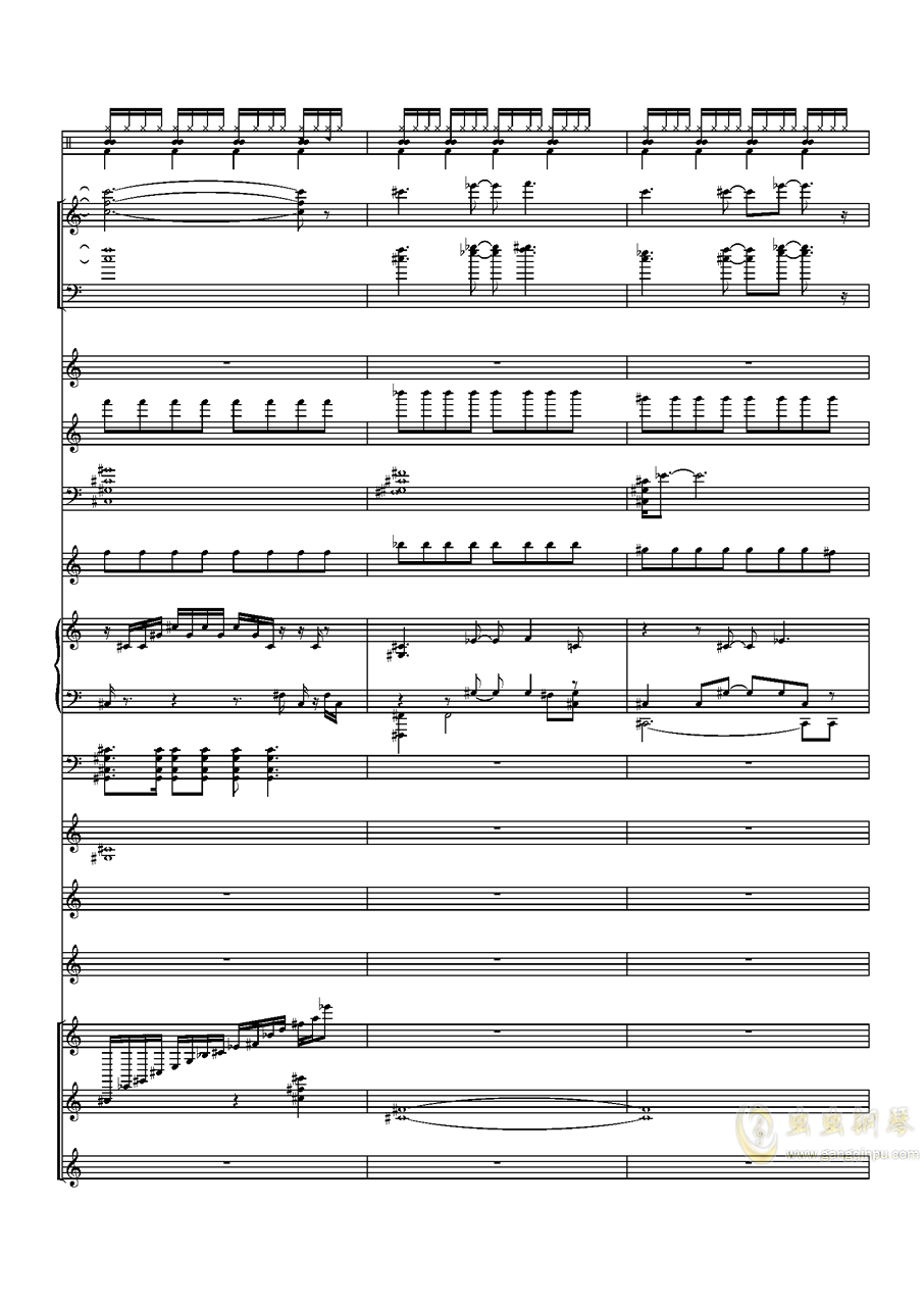 Try Every Thing钢琴谱 第21页