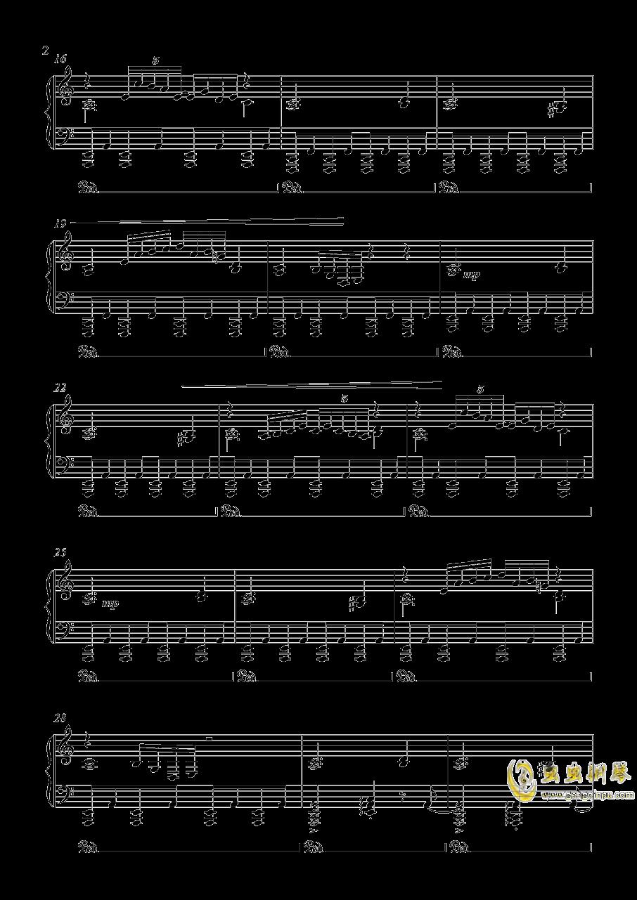 オリエンタルダ�`クフライト 钢琴谱 第2页