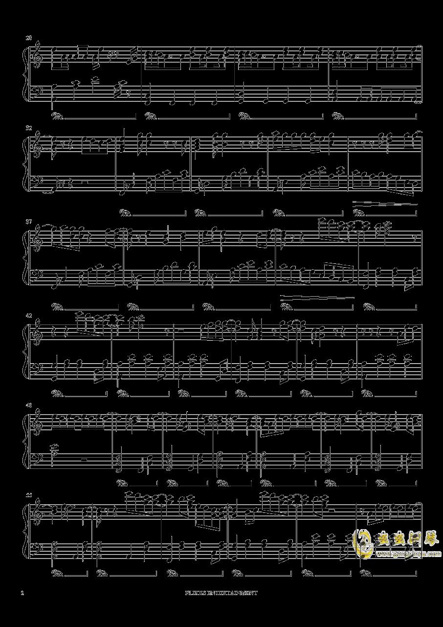 Fallin Flower钢琴谱 第2页
