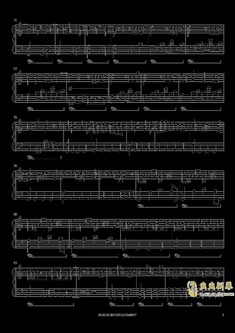 Fallin Flower钢琴谱 第3页