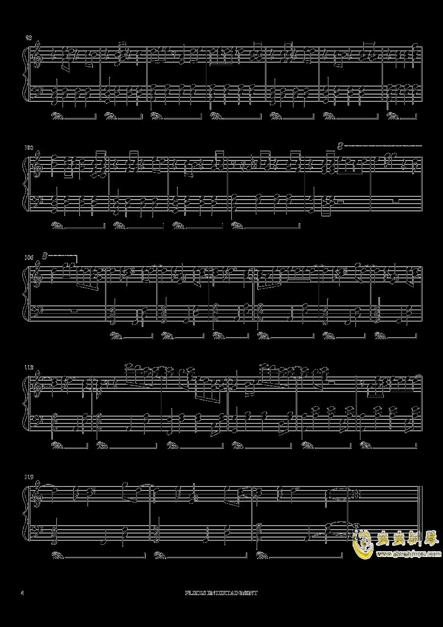 Fallin Flower钢琴谱 第4页