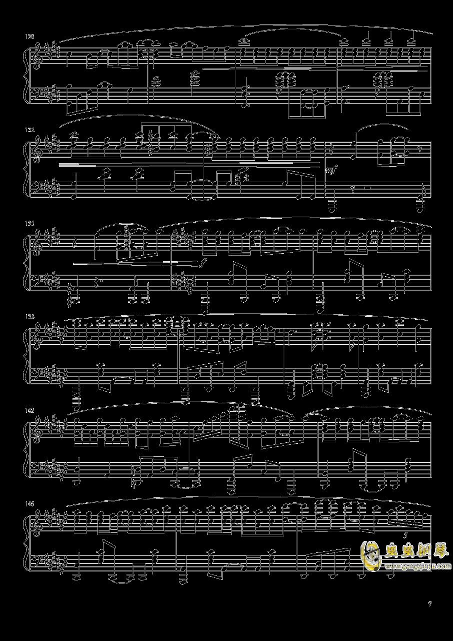 Suzumiya Haruhi no Yuutsu OST钢琴谱 第7页