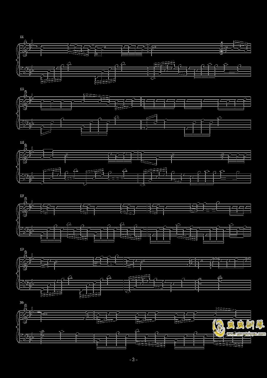 小时候的我们钢琴谱 第2页