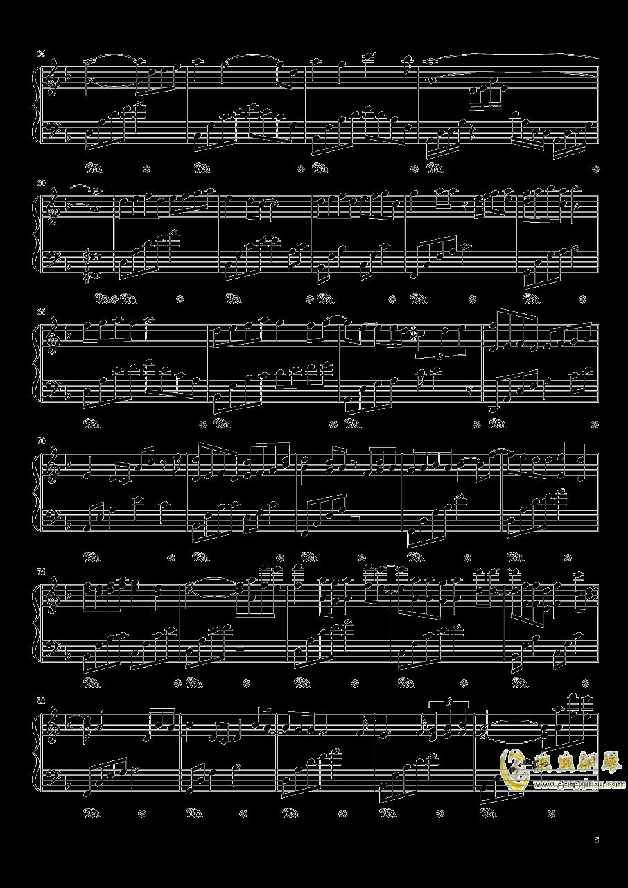 昙花钢琴谱 第3页