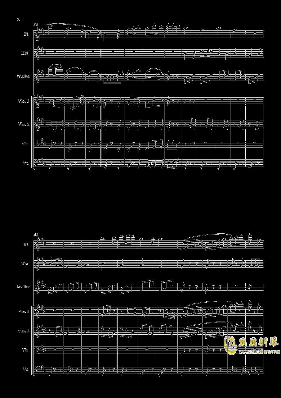 配乐小练习钢琴谱 第2页