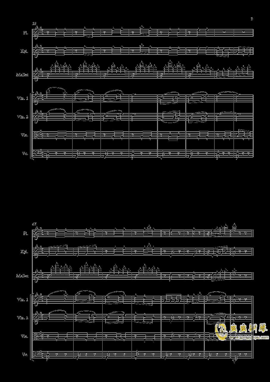 配乐小练习钢琴谱 第3页