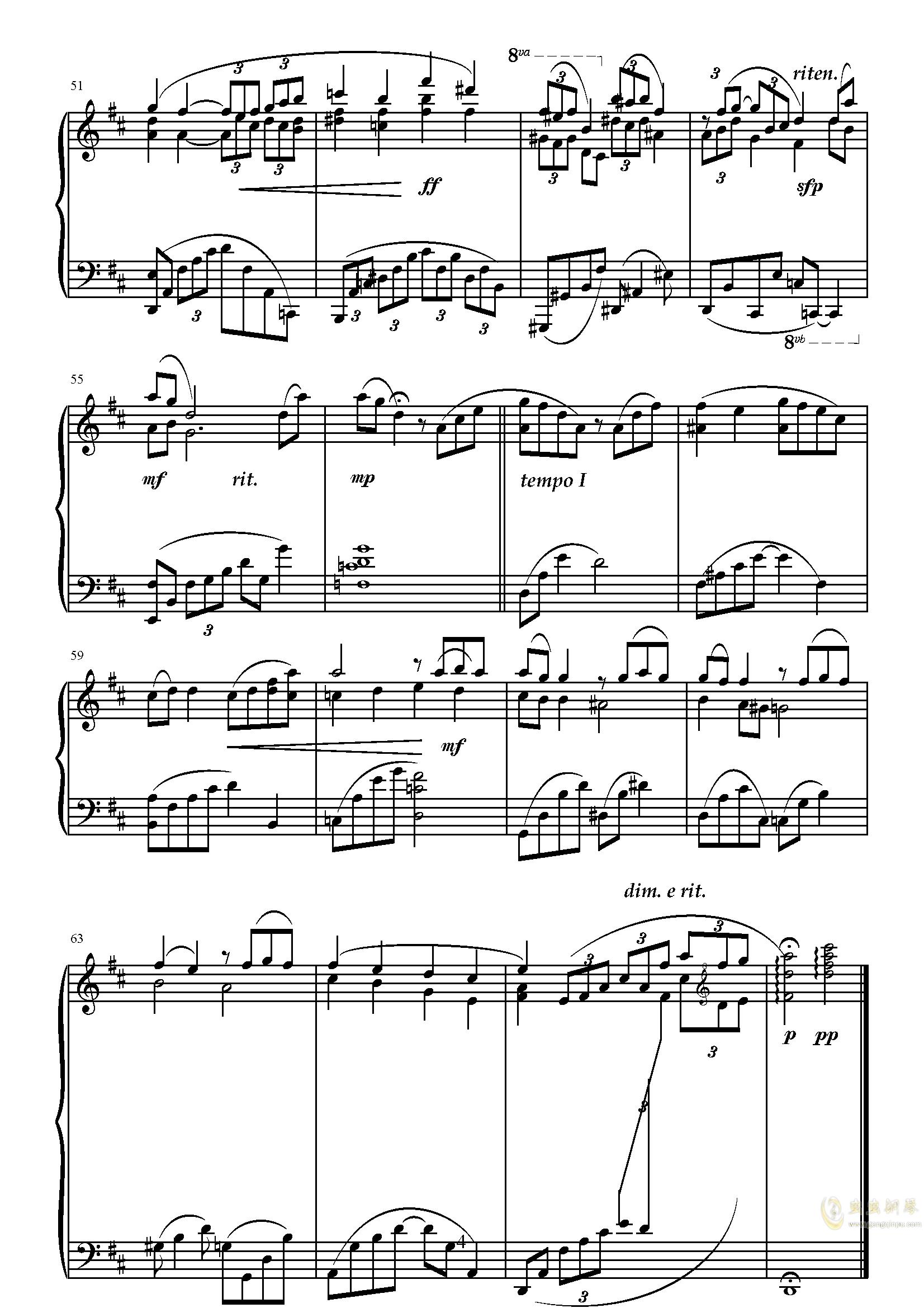 告别2019钢琴谱 第4页