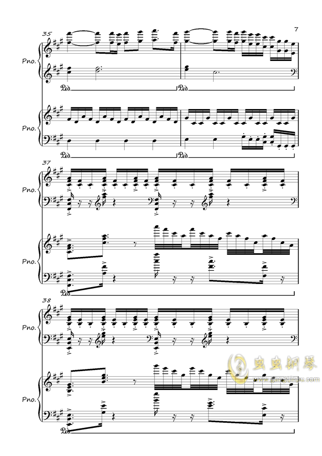 All Music Chords sheet music for river flows in you : River Flows In You,River Flows In You钢琴谱,River Flows In You ...